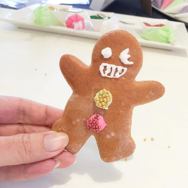 • This is how I wanna my Gingerbread to look like !