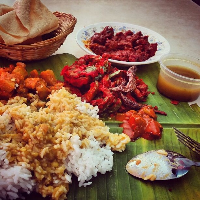 Best Banana Leaf Rice Ever...
