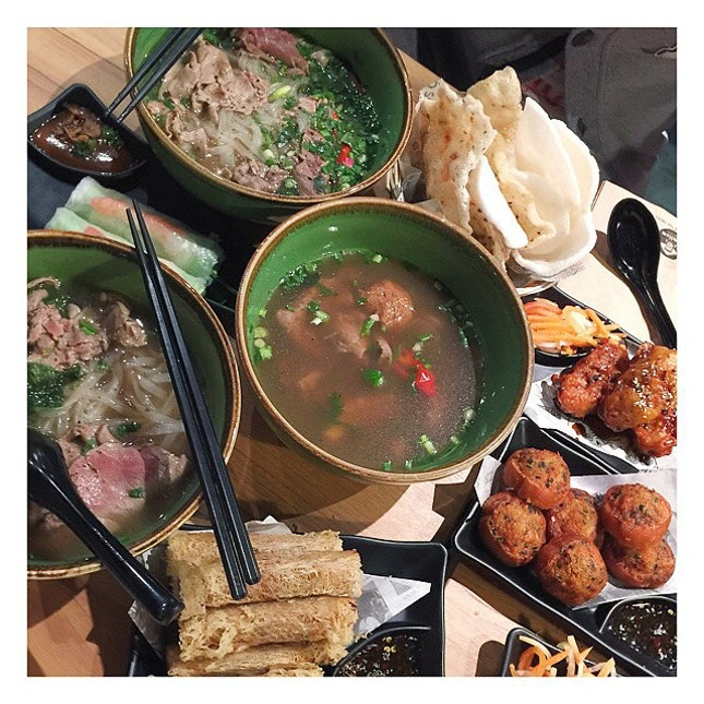 Thank you for inviting us to this pho-licious meal!!