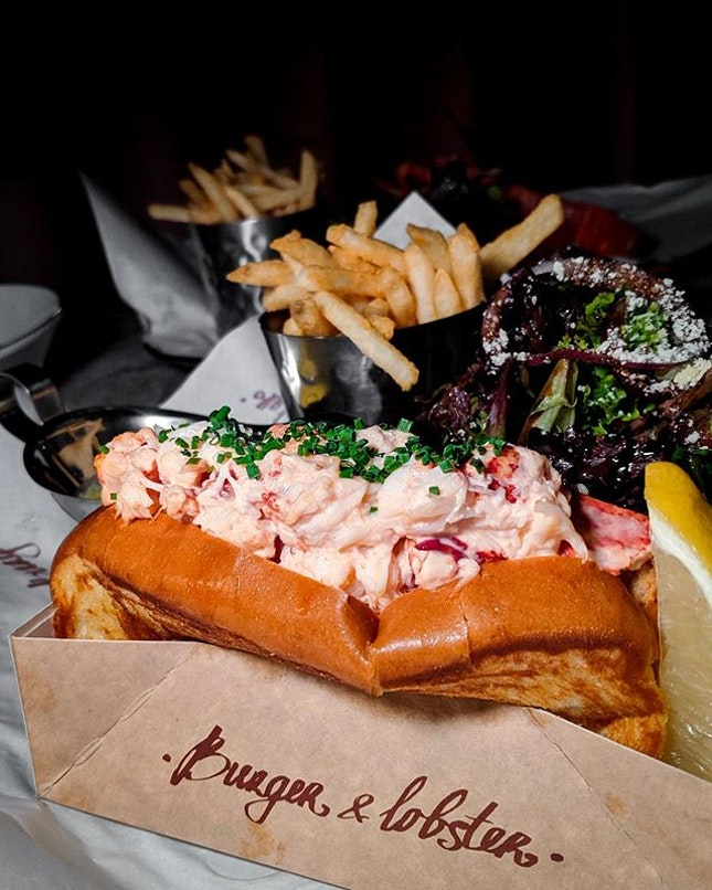 Without a doubt the best lobster roll in Singapore.