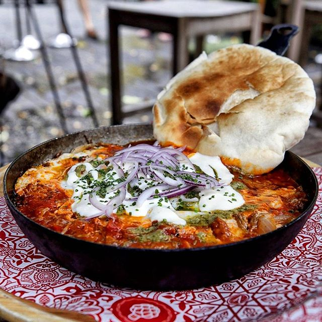 #throwback to the one, the only fantastic and exquisite Lamb Shakshouka ($26++).