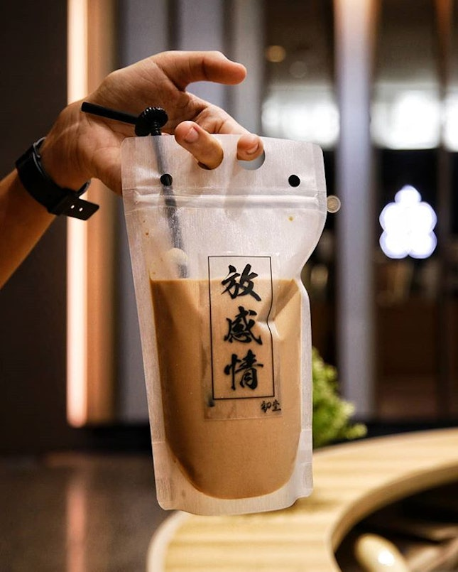 Visited Chu Tang to try their Milk Tea ($4.90) which is currently on a 1-for-1 promotion.