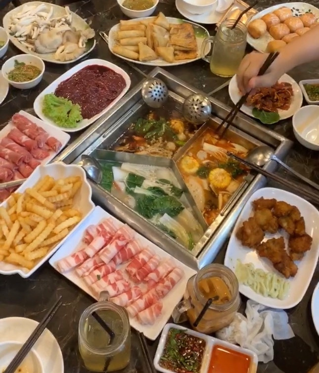 Hotpot buffet
