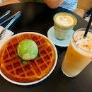 Good Waffle With Good Coffee