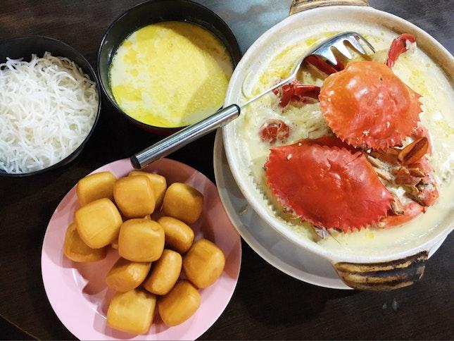 Claypot Crab Beehoon Soup