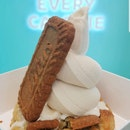 Caramel Cookie. With Caramel Cookie Soft Serve.