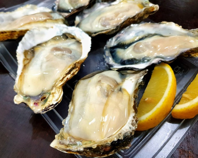 Oysters $38/6pcs