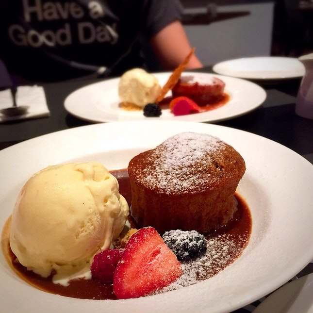Ginger date pudding