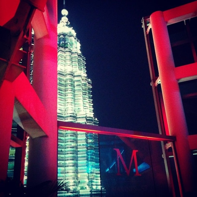 Though its unexpected re-welcome by the waitress #drinks #tower3 #klcc #malaysia