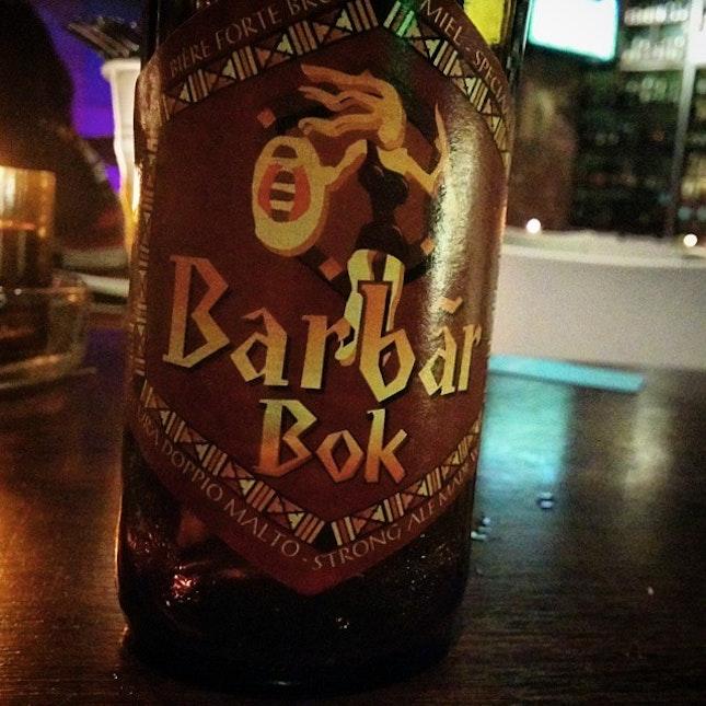 Bar bar bok, a good crafty beer.