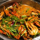 Thai Style Chilli Crab
