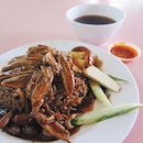 Say hello to my girlfriend's and my favorite braised duck stall located at Chong Pang Food centre!