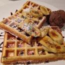 Waffles W Ice Cream