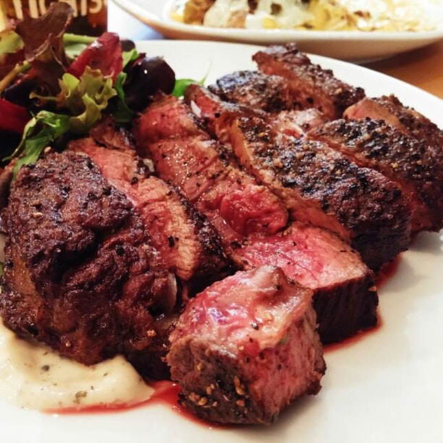 THE BLACK ANGUS RIBEYE! 400G $38