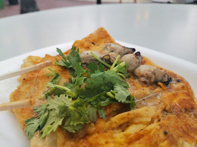 Oyster Omelette (Store 47, Tanglin)
