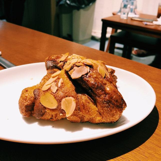 Smallish Almond Croissant [$4.20]