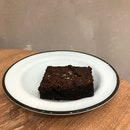 Fudgey Brownie With Sea Salt [$5]