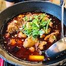 Spicy & Fragrant Chicken Pot [$23.90++]