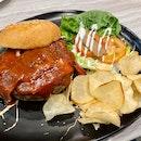 BBQ Jumbo Beef Burger [$14.90]