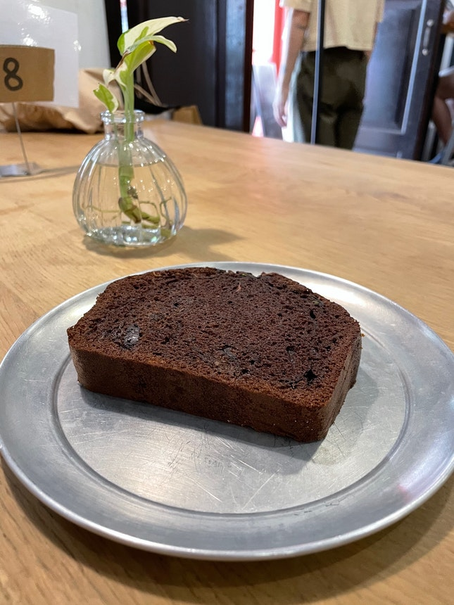 Chocolate Zucchini Cake [$5]