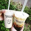 #sgfood #sgeat #hungrygowhere #instag #instagfood #foodpic #burpple #sgcafe #whati8tdy #grabfood #milktea #brownsugarmilktea #kungfuteasg #taiwanmilktea