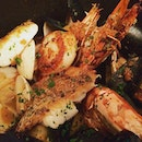 Seafood casserole - fresh, delicate with an excellent broth.