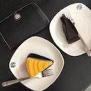 Lemon Zest Cake and Flourless Chocolate Cake