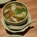 Clear Tom Yum Soup With Seafood!