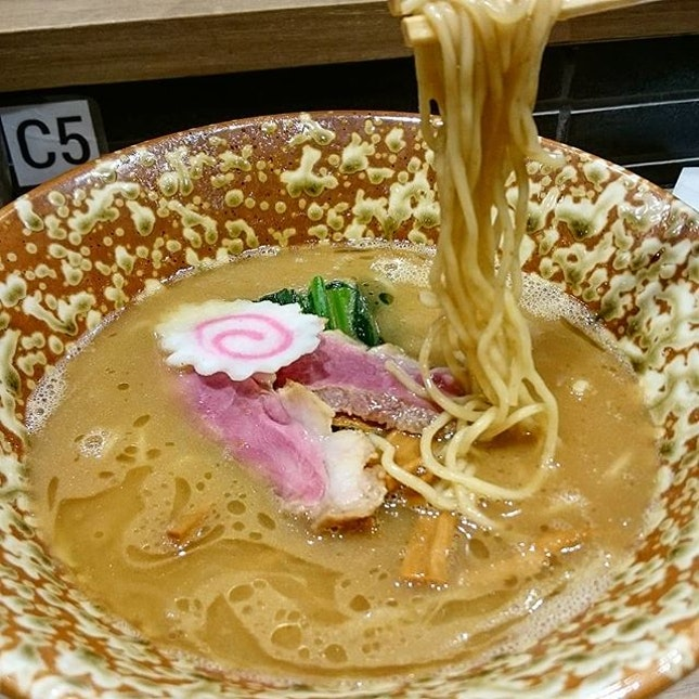 Duck Ramen - Rich Soup ($14.90)  Yet another cosy restaurant from Keisuke!