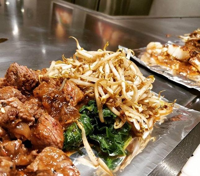 #cxyi teppanyaki at j8 food court.