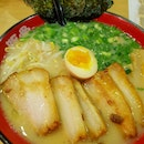 Tried the salted ramen.