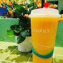 U Tea #01-K1 ~ refreshing cheese mango tea!
