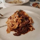 We ordered three mains here, including this Oxtail Ragù.