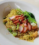 Word on the foodie blogosphere is that this bowl of wanton noodles usually goes for a princely sum of $18 at Chef Kang's Michelin-anoited restaurant, but is now available to the masses at a more reasonable  price of $5.