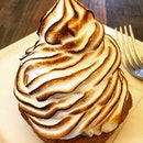 Lemon meringue tart.