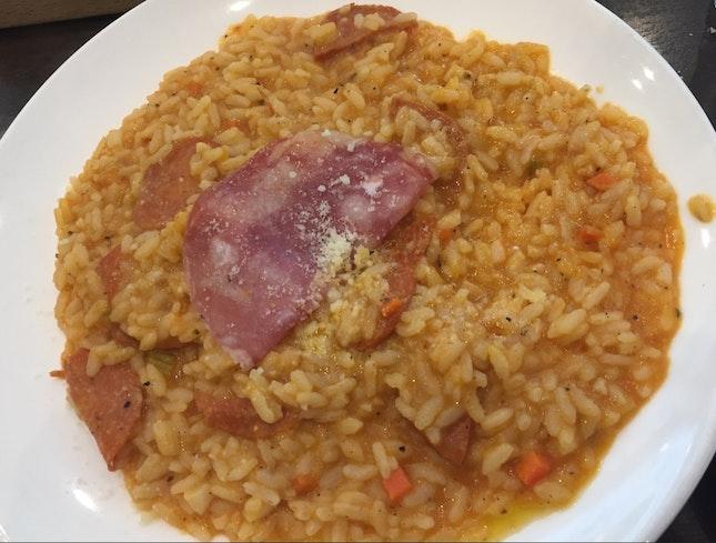 Chorizo Risotto