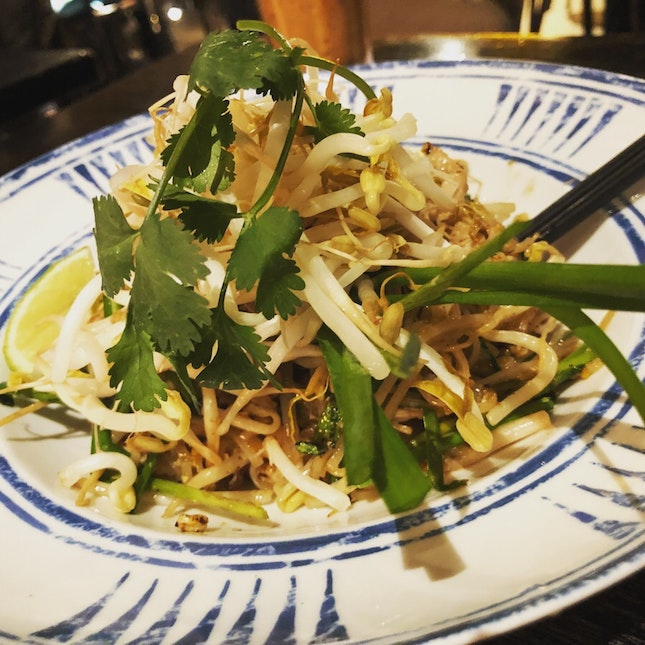 Pad Thai With The Right Caramelization