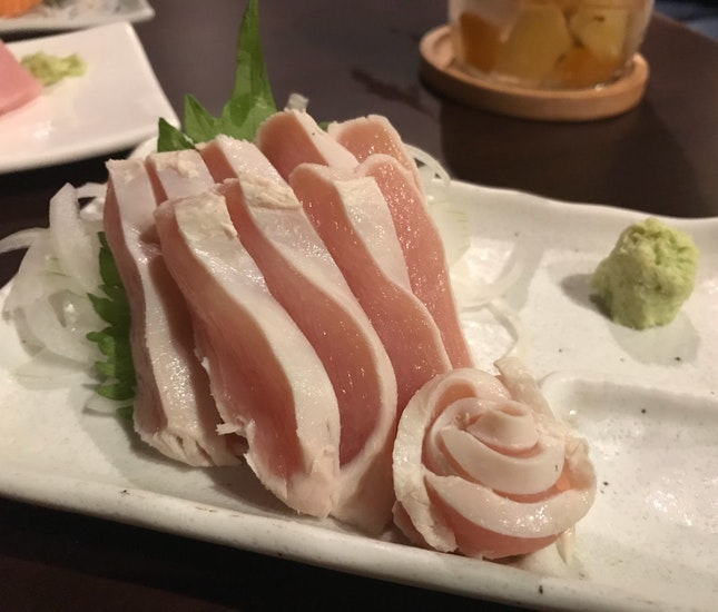 Chicken Sashimi!