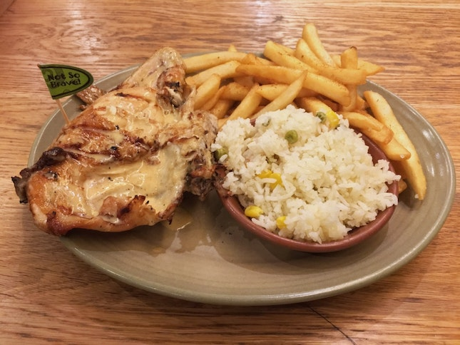 Lemon And Herb Quarter Chicken ($14.90+)