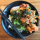 Chicken Karaage Bowl ($8.50)