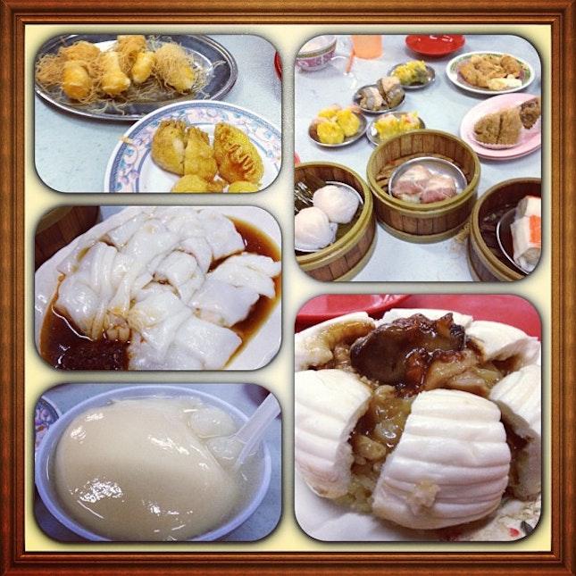 #dimsum#鸡窝包#猪肠粉#taufufah#delicious#supper#cg#happy#friends