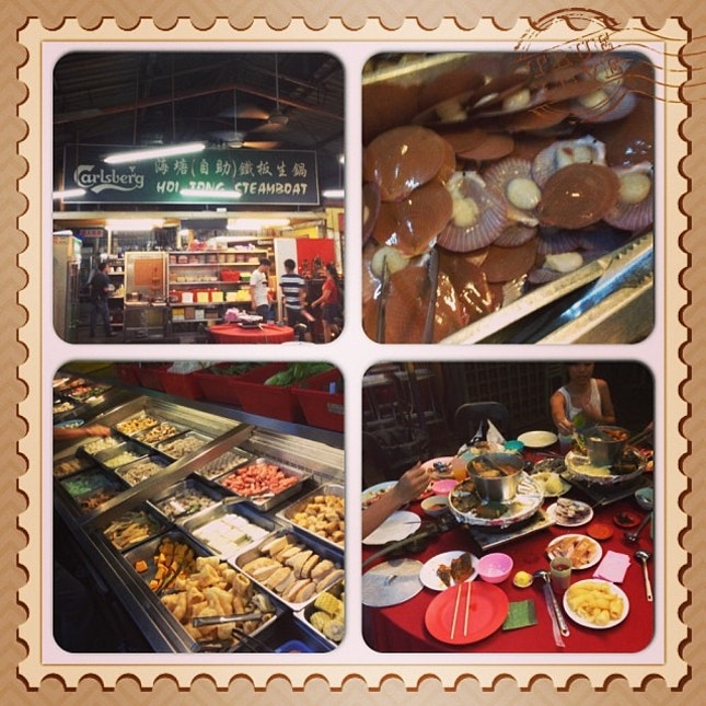 #steamboat#seafood#varieties#yummy