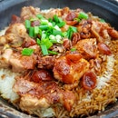 Simple Claypot Rice