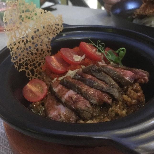 Beef Claypot Rice