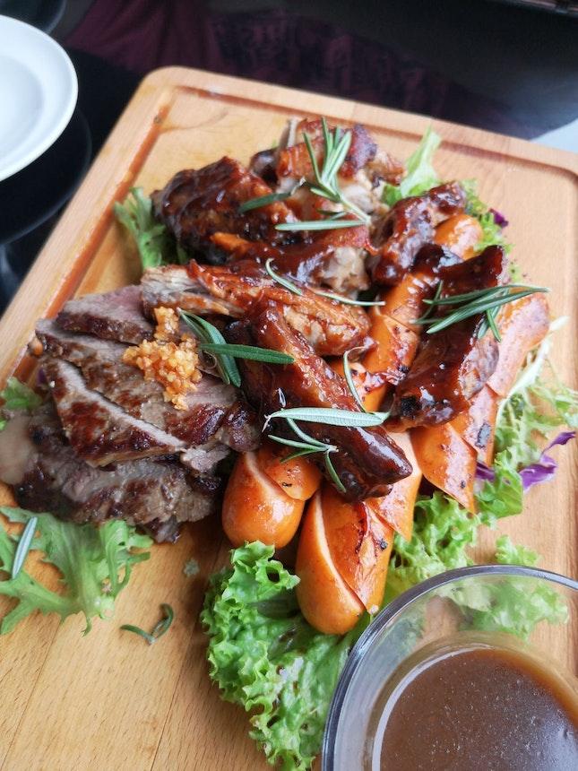 Meat Platter For 2