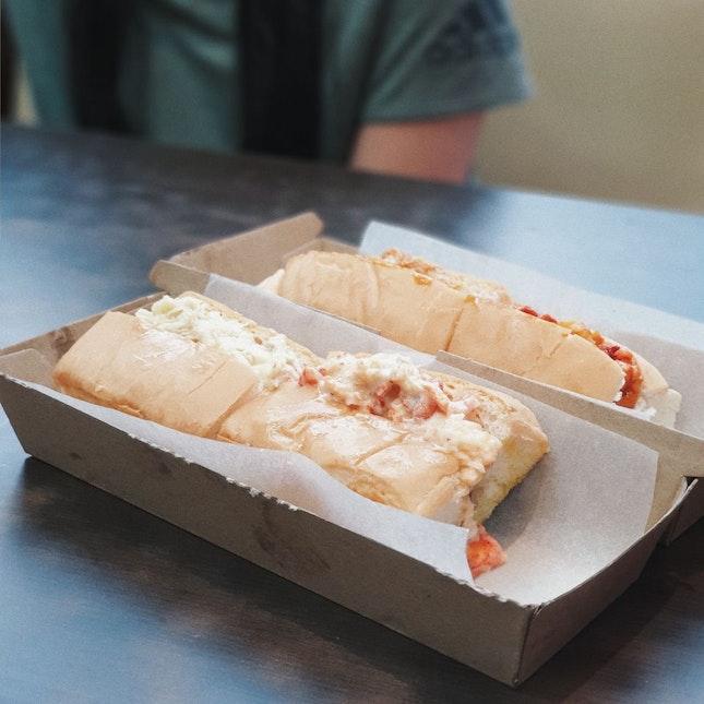 Seafood Roll - Half Crab, Half Lobster [$23]