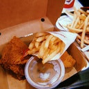 2 Pieces Chicken With Fries [$6]