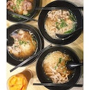 Chicken Boat Noodles [$6.50] •  A little spicy, Chili-avoiders please take precaution.