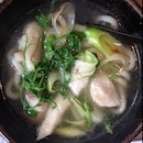 Spring Special: Monkfish Udon, Pea Shoots And Leek