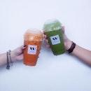 Thai Milk Tea Thai Milk Green Tea 😍😍😍 [$3.30] .